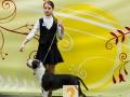 2 место, Лучший Юный Хэндлер Juliana (12 years old) and Vladlider Celandin Brings Victoria